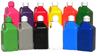 The 2000 Series Utility Jugs are avaiable in 12 diferent colors.
